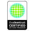 Our technicians are certified with the IICRC, The Clean Trust