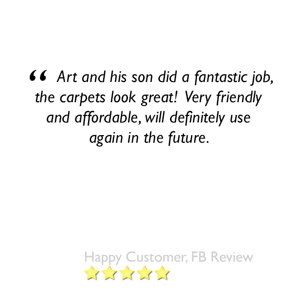 This is a 5 star review left about our orlando carpet cleaning services 2